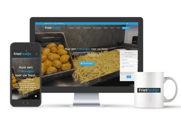 Website laten maken? | portfolio | Friet Festijn