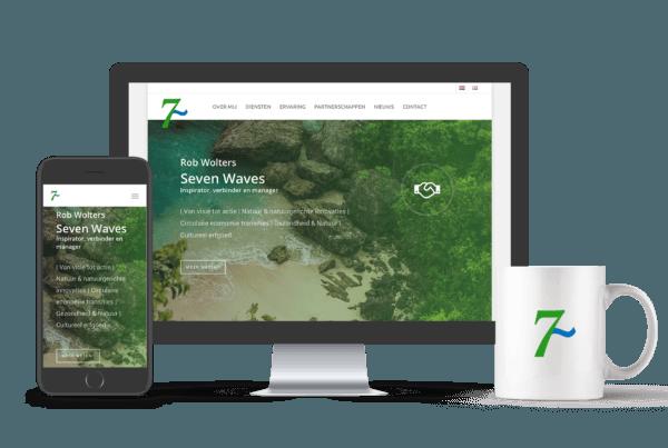 Website bouwer Tilburg | Seven Waves