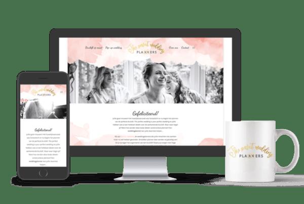 Website laten maken Tilburg? | portfolio | Perfect weddingplanners
