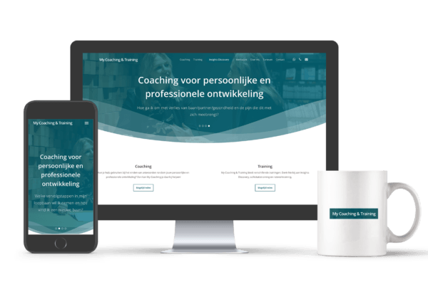 Responsive website My Coaching