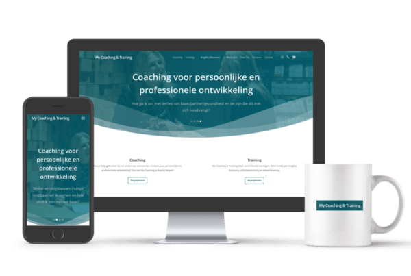 Professionele website laten maken | My Coaching