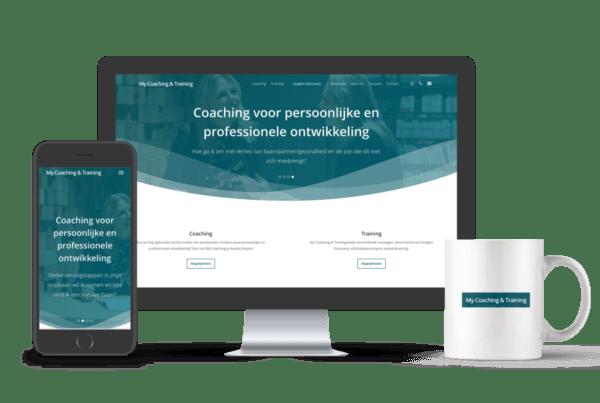 Professionele website laten maken | My Coaching