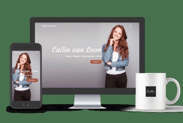 Website portfolio Cailinvanloon