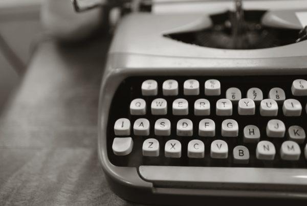 Typmachine om SEO teksten te schrijven