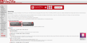FileZilla client downloaden